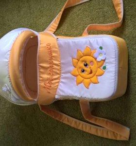 Сумка-переноска для малышки