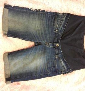 Шорты джинсовые для беременных HM