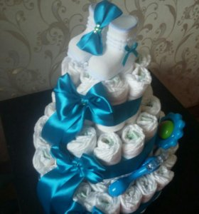 Торт из памперсов на заказ