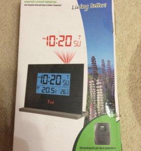Часы с проекцией и метеостанцией Ea2 EN206