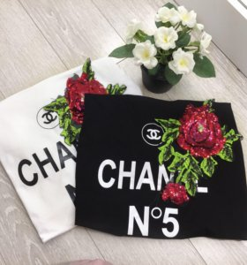 Футболки Chanel