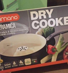 Сковорода жароварка Dry Cooker Delimano