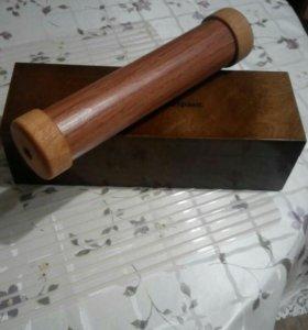 Калейдоскоп деревянный ручной работы