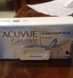Линзы Acuvue Oasys -6