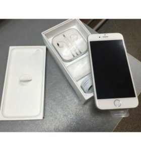iPhone 6 16Gb silver НОВЫЙ