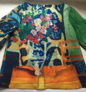 Блуза Balenciaga silk