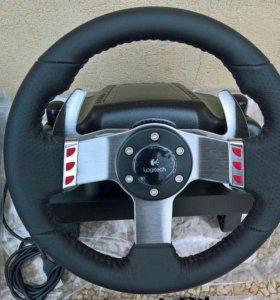 Logitech G27 Racing Wheel Новый в коробке гарантия
