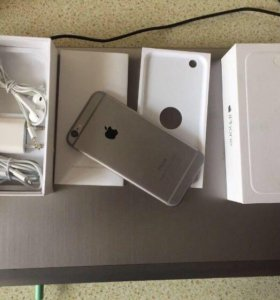 iPhone 6, Space Gray, 128 GB