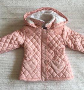 Курточка на девочку Новая 86 размер