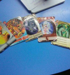 Фигурки и карточки Бакуган
