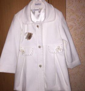 Пальто в комплекте с платьем