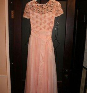 Платье новое с поясом