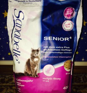 Корм для кошек старше