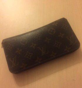 Louis Vuitton оригинал кошелёк zippy
