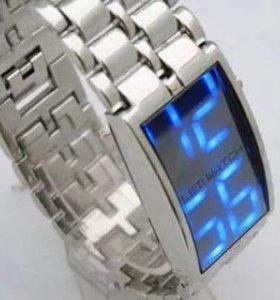 Новые мужские часы led