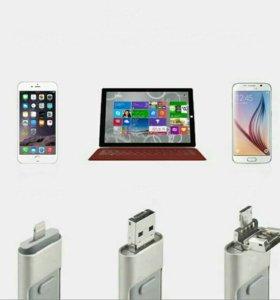 Флешка на iPhone, андроид и usb
