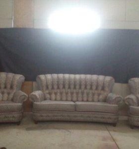 Диван и два кресла !! Новые!!!