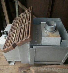 печь в гараж/баню