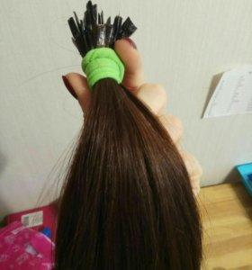 Натуральные волосы 52см