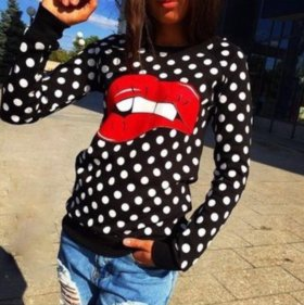 Свитшот Lips XS/S