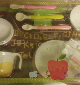 Набор посуды для ребёнка для первого прикорма