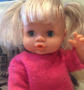 Кукла 43см,говорящая.