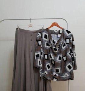 Костюм юбка и блуза