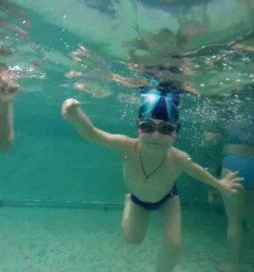 Плавание для детей. Обучение.