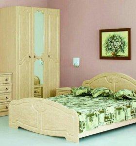 Спальный гарнитур/спальня КЭТ-2 КЛАССИКА!
