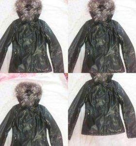 Куртка теплая зимняя новая