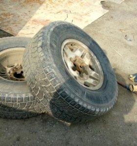 Комплект 4 колес danlop grandtrek j6 265/70/r15