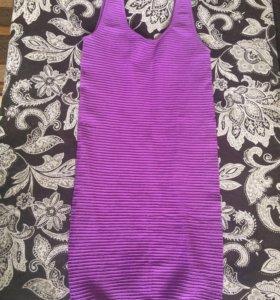 Облегающее платье, тянется хорошо