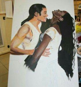 Картина Майкл и Наоми