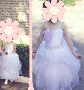 Пышное платье для выпускного
