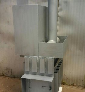Печь конвектор для бани