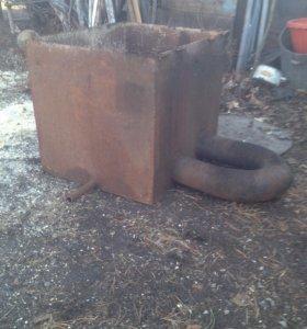 Бак для бани , под горячую воду