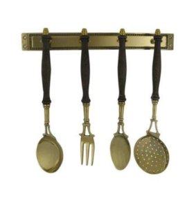 Кухонный набор латунь