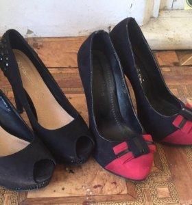 2 пары туфлей за 500 рублей