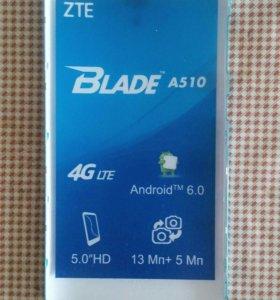 Новая задняя крышка на телефон zte blade a510