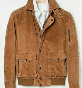 Замшевая куртка Mango Man