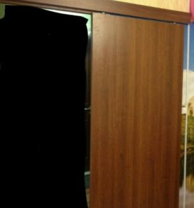 "Раздвижная межкомнатная дверь (2000×900×38)""орех"""