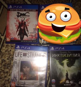 PS4 игры