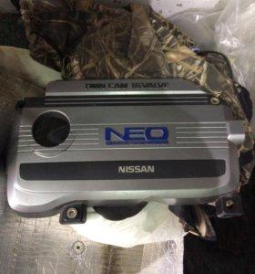 Декоративная крышка на двигатель Ниссан вингроод