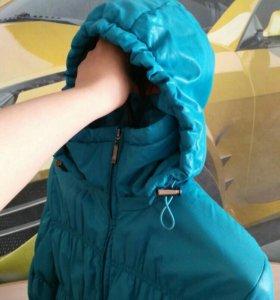 Демисезоннная куртка-резинка для беременных