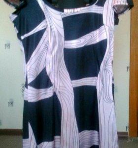 Красивое шелковистое платье