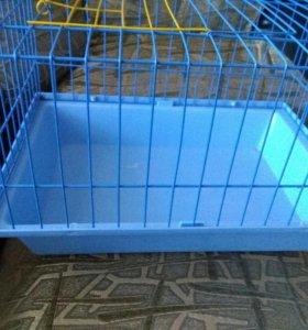 Клетка для маленьких морских свинок и кроликов