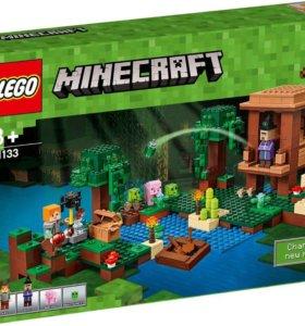Конструктор lego Minecraft 21133 Хижина ведьмы