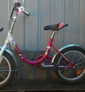 фиалетовый велосипед
