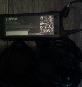 Hipro оригинал,зарядное устройство для ноутбука
