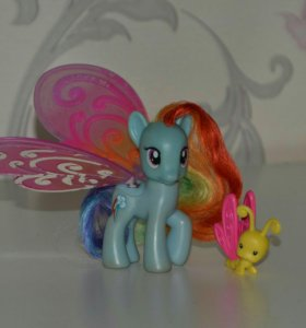 Радуга бабочка (Rainbow Dash) My Little Pony
